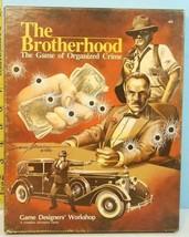 The Brotherhood The Game of Organized Crime GDW 1983 Unpunched - $29.65