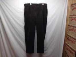 Men's Dark Green Corduroy Pants by L.L. Bean Sz 36