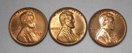 1949-P, D, & S Lincoln Wheat Cents (3 Coins) Lot AE981 - $27.99