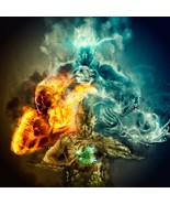 Haunted : Djinn of the Four Elements – Fire Wind Earth Water – Mus'ub – ... - $300.00