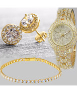 Women Mesh Band Ultra-thin Stainless Steel Geneva Watch Quartz Wrist Wat... - $14.99