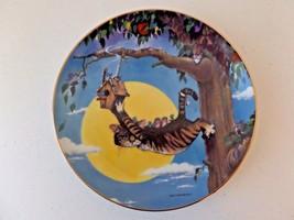Vntg 1995 Danbury Mint Comical Cats Gary Patterson Plate The Hang Out LE #D6407 - $17.28