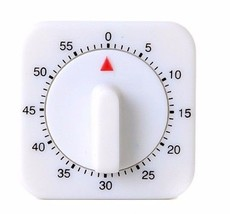 1Hr/60Min Mechanical Timer Game Count Down Counter Alarm Kitchen Cooking... - $5.99