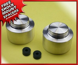 """Fits 03-10 Hummer H2 4WD 4X4 Silver Aluminum Spring Spacers 3"""" Rear Lift... - $55.00"""