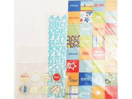 """Making Memories Little Kids 8""""x8"""" Page Kit, Scrapbooking & Card Making image 4"""