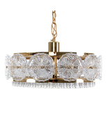 PRISM PENDANT by Vitrika, 1960s. Hollywood Regency style hanging light - $524.00