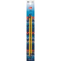 PRYM  218402 Child's knitting needles, 17cm, 4.00mm, yellow,plastic - $8.65 CAD
