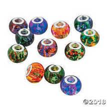 Marbled Large Hole Beads - $16.61