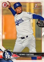 2018 Bowman Prospects #BP36 Dennis Santana NM-MT Dodgers - $0.99