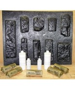 #OKL-01K Limestone Concrete Mold & Supplies Kit (9) Make 100s Rock Stone... - $219.99