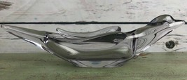 Vintage RARE Vannes Lavender Glass Dove Collector Mid Century Piece Bowl... - $58.05