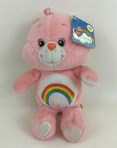 Care Bears Talking Cheer Bear 20th Anniversary Plush Stuffed Toy with Ta... - $22.23