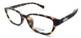 Coach HC 6067F 5120 Eyeglasses Frames 52x16 Dark Tortoise Asian Fit - $57.33