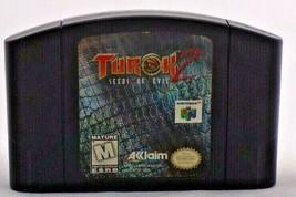 Turok 2 Seeds of Evil (Nintendo 64 1998) Nintendo N64 Authentic Cartage ... - $12.46