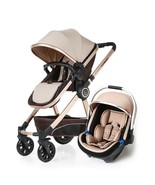 Luxury Baby Stroller 3 in 1 High Landscape Baby Carriages For Kids Baby ... - $520.00+