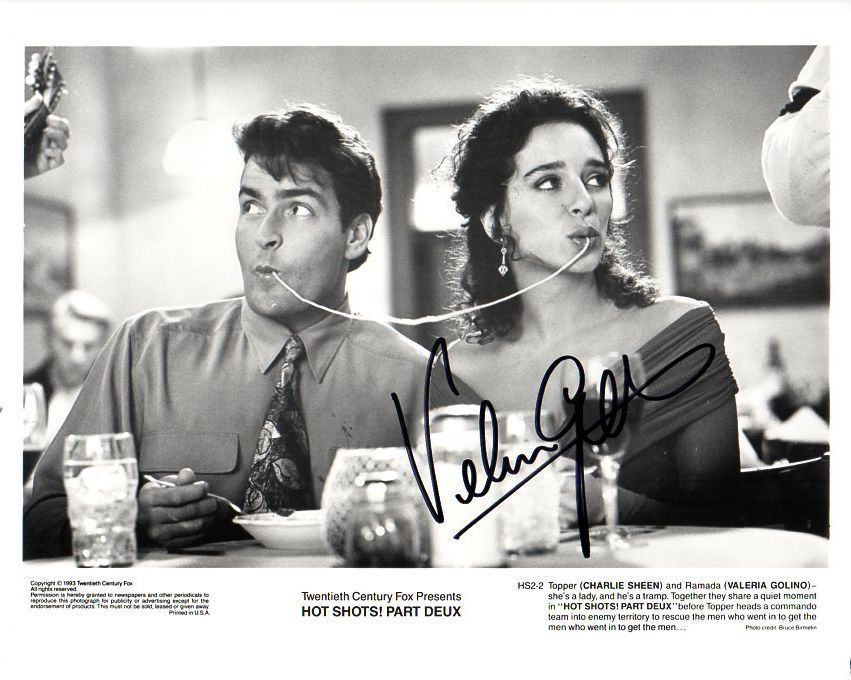 "Primary image for Valeria Golino Signed Autographed ""Hot Shots Part Deux"" Glossy 8x10 Photo"