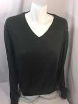 Polo By Ralph Lauren Women  Olive Green Size XXL Long Sleeve Sweater Thin Cotton - $18.70
