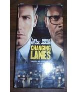 Changing Lanes VHS 2002 Paramount Ben Affleck Samuel L Jackson - $0.99