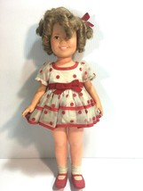 Vintage Shirley Temple Doll 1972 Ideal with Original Clothing 16 in Coll... - $69.29