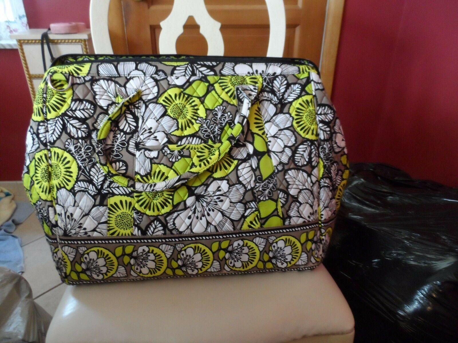 Vera Bradley Citron Frame Travel Bag