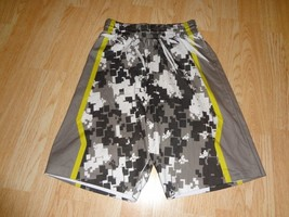 Youth Digital Camo M Basketball Sublimated Shorts (Light Green/Black/Whi... - $9.49