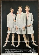 1968 Majestic Fashion Clothing Print Ad Designs For Young Women of all Ages - $10.69