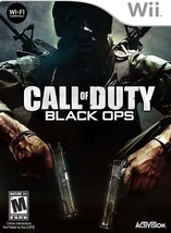 Call of Duty Black Ops NINTENDO Wii Video Game - $9.97