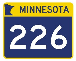 Minnesota State Highway 226 Sticker Decal R4981 Highway Route sign  - $1.45+