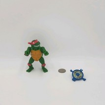 1989 Vintage vtg Raphael W/ Shield TMNT Action Figure Playmates Toys - $5.72