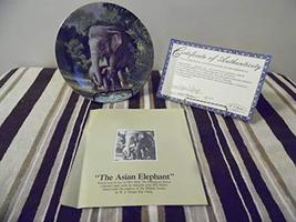 Bradex WS George Plate The Asian Elephant by Will Nelson CP769 - $12.75