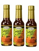 Grace Sucré & Spicy Chaud Sauce Paquet de 3 - $14.98