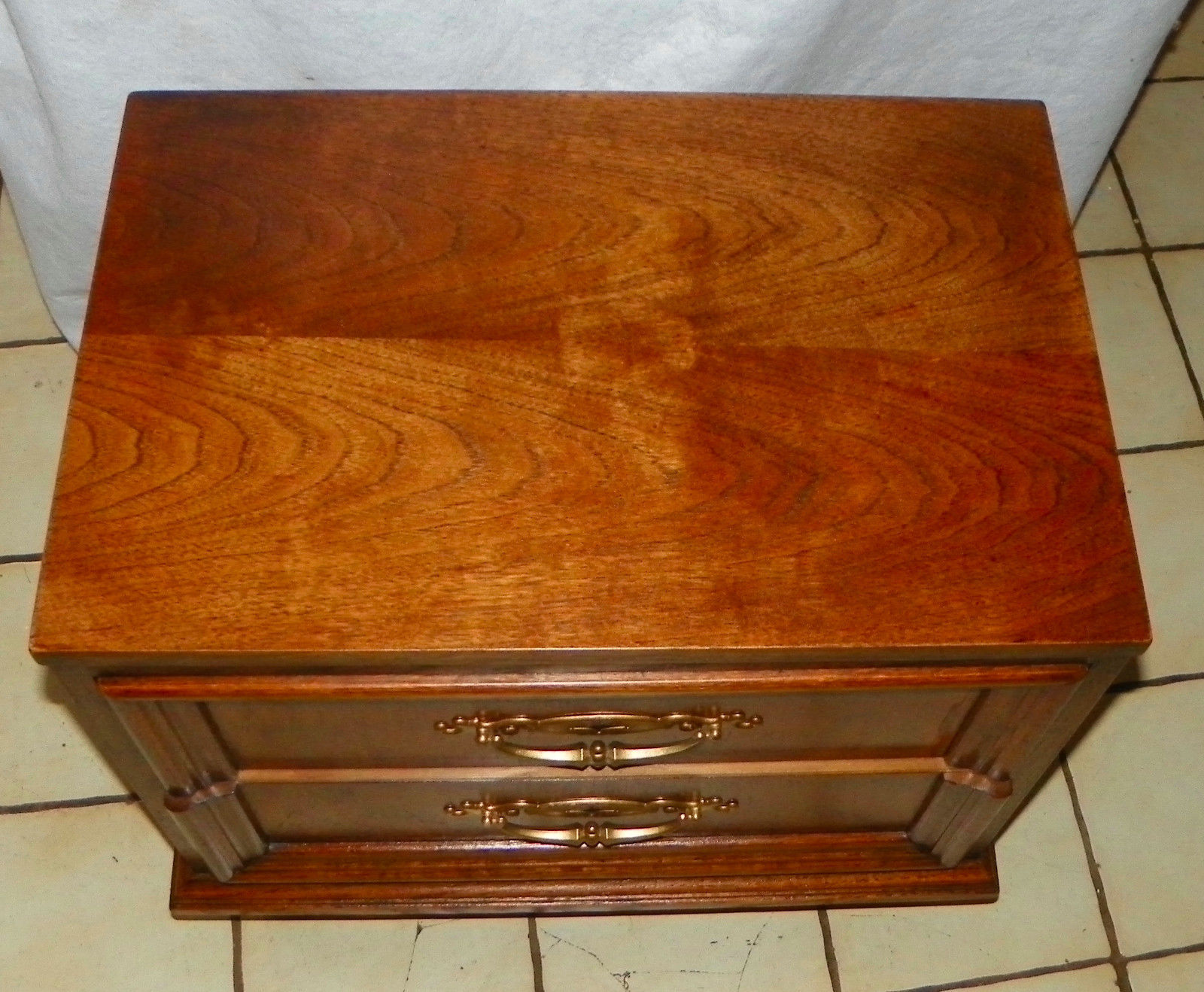 Pecan 2 Drawer Nightstand By Thomasville And 50 Similar Items