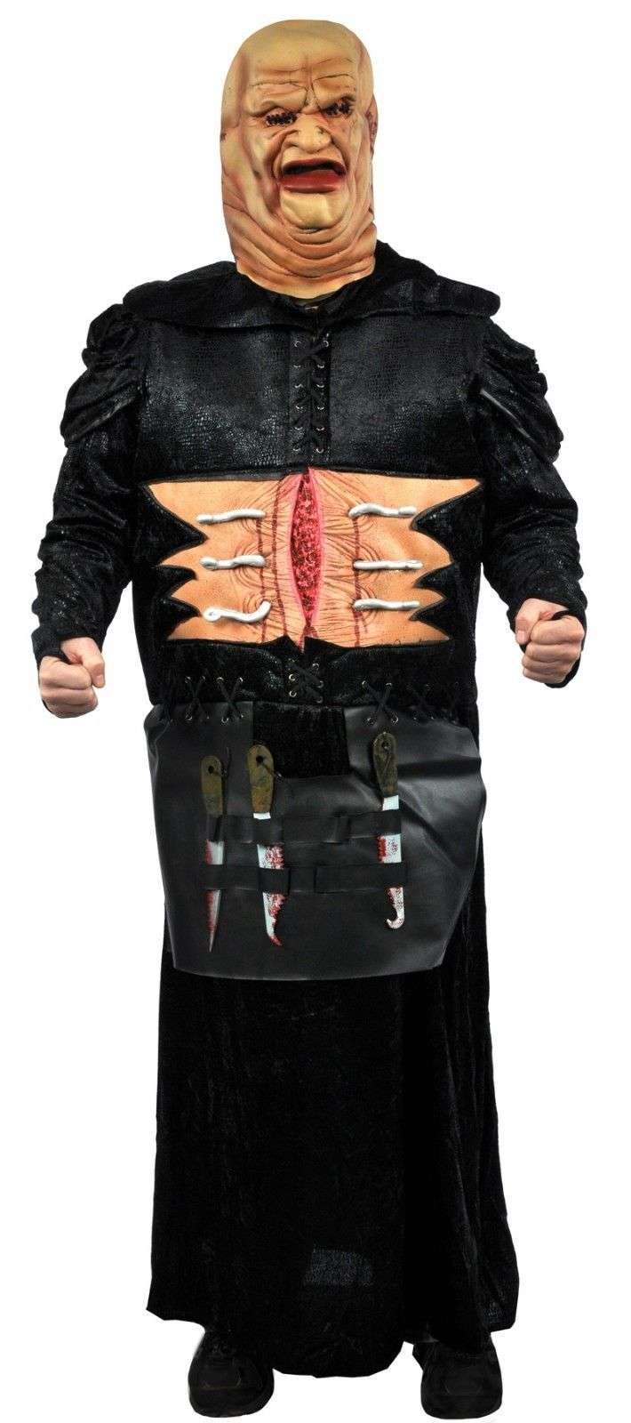 Deluxe Large Mens Adult Hellraiser Movie Butterball Halloween Costume New