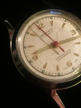 "Vintage Silver Sheffield 7 Jewels 1 1/8"" watch (No band)  image 4"