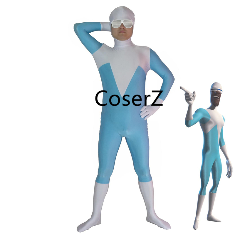 Primary image for Superhero Frozone Costume Halloween Party Cosplay Zentai Suit