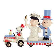 Lenox Peanuts July 4th Parade Figurines Charlie Brown It's Independence ... - $84.00