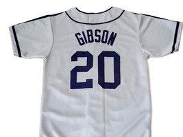 Josh Gibson #20 Homestead Grays Negro League New Baseball Jersey Grey Any Size image 2