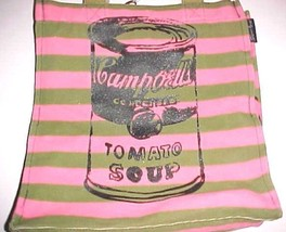Andy Warhol Campbells Soup Can Tomato 1985 - 1986 N.Y. City Loop Pink To... - $49.49