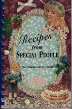 Recipes from Special people Burt Sheltered care Home spiral bound cook b... - $8.96