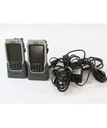 Lot (2) Intermec CN2B Handheld Barcode Scanners w/ (2) Charging base's  - $58.36
