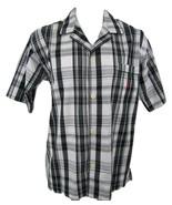 Polo Ralph Lauren Men's Size M Pajama Top 100% Cotton Plaid Button Front... - $29.20