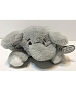 Bearington Baby Spout Plush Stuffed Animal Gray Elephant with Rattle 8 i... - $12.60