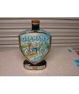Vintage Jim Beam Germany bourbon whiskey liquor bottle decanter - $11.88