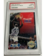 1992 SKYBOX SHAQUILLE O'NEAL #382 ROOKIE CARD RC ORLANDO MAGIC PSA 9 MIN... - $98.99