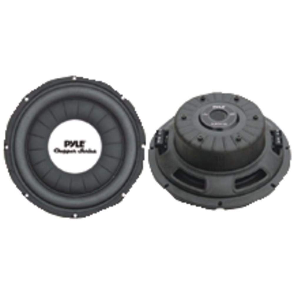 "Primary image for Pyle PLWCH12D Chopper Series 12"" 1,200 Watt Shallow-Mount Subwoofer"