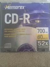 memorex CD-R 80 min - $15.79