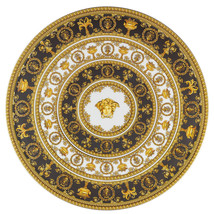 Versace I Love Baroque Tartplate on Foot Porcelain Made in Italy - $557.94