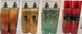 Lot of 2 Bath and Bod Works Fine Fragrance Body Mist Splash Spray 8 fl o... - $19.70