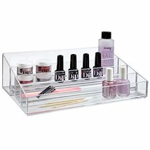 STORi Premium Quality Clear Plastic Vanity Organizer | Audrey Collection - $12.73