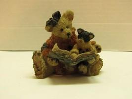 1994 Boyds Bears & Friends Scaredy Cat Figurine - $10.89